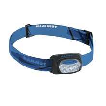 Headlamp MAMMUT T-Trail - Black-Blue