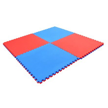 Puzzle Exercise Mat Spartan 100 x 100 x 2 cm Blue/Red