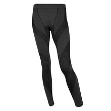 Ladies functional pants extreme Brubeck MERINO long - Black