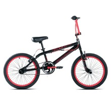 "BMX Bike Capriolo Totem 20"" – 2017 - Black Red"