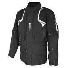 Airbag Jacket Helite Touring New Textile Black - Black