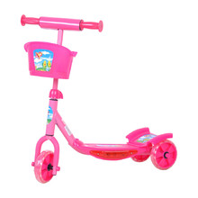 WORKER Tri 100 scooter - Pink