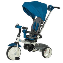 Three-Wheel Stroller/Tricycle with Tow Bar Coccolle Urbio - Blue