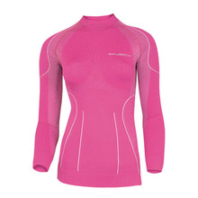 Women's functional T-shirt Brubeck THERMO short-sleeve - Pink
