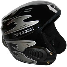 Vento Gloss Graphics Ski Helmet  WORKER - Black Graphics