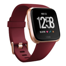 Smart Watch FITBIT Versa Merlot Band/Rose Gold Case