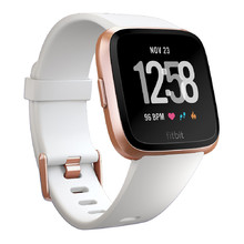 Smart Watch FITBIT Versa White Band/Rose Gold Case