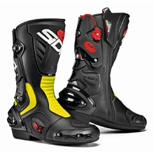 Motorcycle Boots SIDI Vertigo 2 - Black/Yellow Fluo