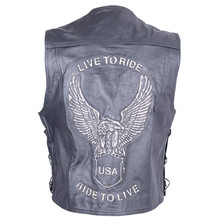 Leather Moto Jacket Sodager Live To Ride
