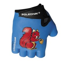 Children's Cycling Gloves Polednik Baby - Squirrel
