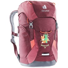 Children's Backpack Deuter Waldfuchs 14 - Maron-Cardinal
