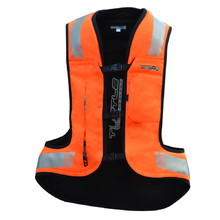 Airbag Vest Helite Turtle 2 HiVis Extra Wide - Orange