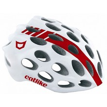 Bike Helmet CATLIKE Whisper - White/Red