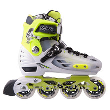 Children's Inline Skates Baud BD260 - Green-Black