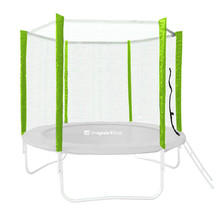 Trampoline Safety Net Without Poles inSPORTline Froggy PRO 305 cm – for 6 poles - Green