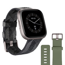 Smart Watch Fitbit Versa 2 Special Edition Smoke Woven