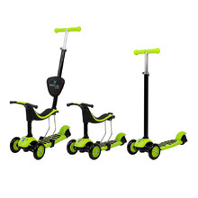 Tri-Scooter 3-in-1 WORKER Jaunsee - Green