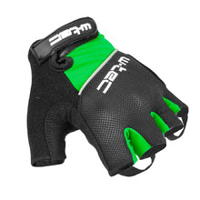 Cycling Gloves W-TEC Bravoj AMC-1018-15 - Green-Black