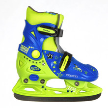 Kids ice skates  Junior WORKER Kelly - Blue-Green