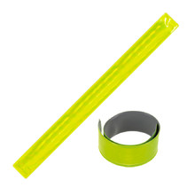 Reflective Slap Band BC 30x3cm - Yellow