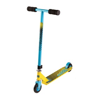 Freestyle Scooter Street Surfing Trickster - Yellow Blue