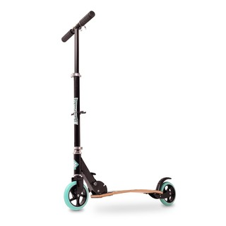 Folding Scooter Street Surfing Turquoise Black
