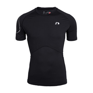 Unisex Running Compression T-shirt Newline ICONIC Short Sleeve
