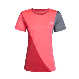Women's running shirt Newline Iconic -  short sleeve - Pink