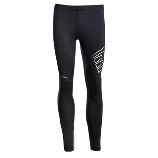 Unisex compression thermal tights Newline Iconic - Black