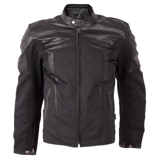 Men's jacket W-TEC Taggy - Matte Black