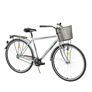 "Urban bike DHS Citadinne 2831 28"" - model 2015 - Grey"
