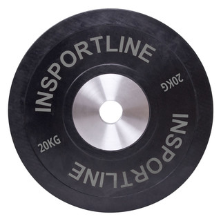 Rubber Weight Plate inSPORTline Bumper Plate 20kg