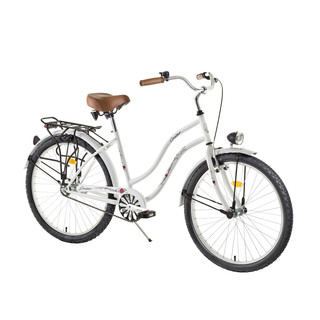 "Ladies Urban Bike DHS Cruiser 2696 26"" - model 2015 - White"
