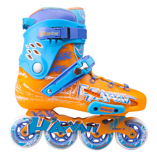 Inline Skates Baud BD276 - Blue-Orange