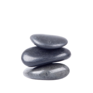 Basalt River Stone Set inSPORTline 4-6cm – 3 Pieces