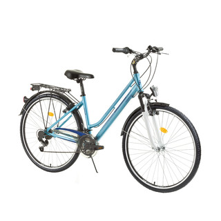 "Women trekking bike DHS Travel 2854 28"" - model 2015 - Blue"