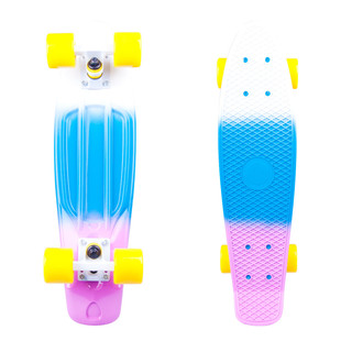 Pennyboard WORKER Sunbow 22ʺ - Violet-Blue-White