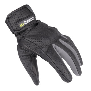 Summer Leather Moto Gloves W-TEC NF-4150 - Grey