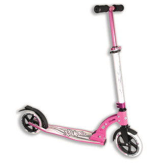 Folding Scooter Authentic NoRules 180 White-Pink