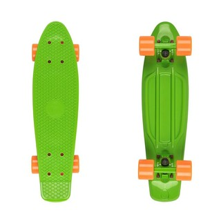 "Penny Board Fish Classic 22"" - Green/Orange"