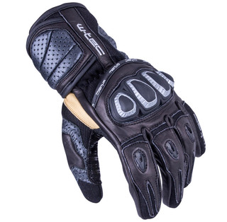 Men's Moto Gloves W-TEC Crushberg - Black