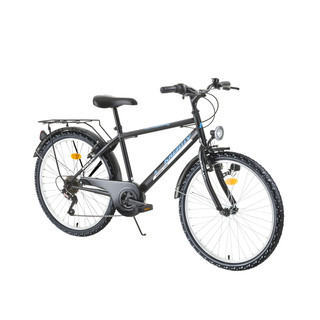 "Junior Bike Kreativ 2413 24"" - model 2016 - Black-Green"
