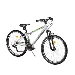 "Junior Mountain Bike DHS Terrana 2423 24"" – 2016 Offer - White"