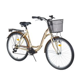 "Urban Bike DHS Citadinne 2834 28"" – 2016 - Ivory-Brown"