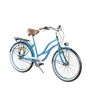 "Women's Urban Bike DHS Cruiser 2696 26"" - 2017 - Blue"