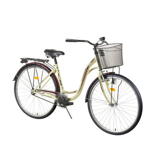 "Urban Bike DHS Citadinne 2832 26"" – 2016 - Ivory-Black-Brown"