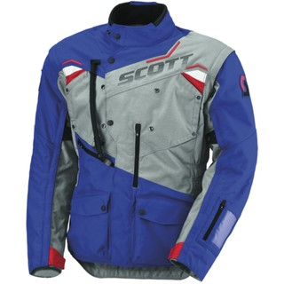 Moto Jacket Scott Dualraid TP - Blue-Gray