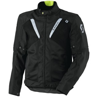 Moto Jacket Scott Summer VTD DP - Black