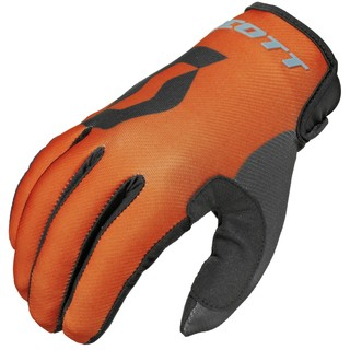 Motocross Gloves Scott 350 Track MXVI - Blue-Orange