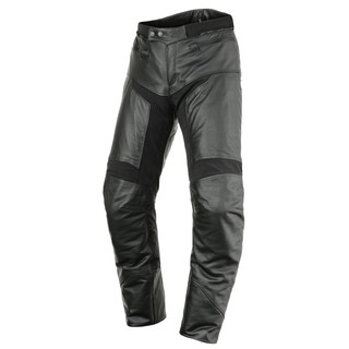 Leather Moto Pants Scott Tourance Leather DP - Black